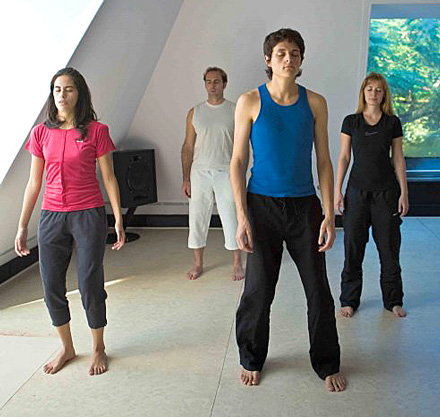 The four stages of Osho Kundalini Meditation